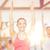 grup · gülen · insanlar · egzersiz · spor · salonu · uygunluk - stok fotoğraf © dolgachov