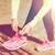 ランニングシューズ · 女性 · ランナー · 靴 · レース · 実行 - ストックフォト © dolgachov