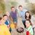 genç · arkadaşlar · barbekü · piknik · doğa · grup · insanlar - stok fotoğraf © dolgachov