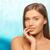 młoda · kobieta · dotknąć · usta · zdrowia · ludzi · piękna - zdjęcia stock © dolgachov