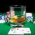 chips · tarjetas · whisky · cigarro · mesa - foto stock © dolgachov