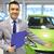 affaires · vert · voiture · électrique · technologie · avenir · propre - photo stock © dolgachov