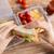 mujer · alimentos · alimentación · saludable · almacenamiento - foto stock © dolgachov