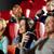 gelukkig · vrienden · kijken · film · theater · bioscoop - stockfoto © dolgachov