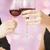 boldog · pár · szemüveg · bor · gyönyörű · pirít - stock fotó © dolgachov