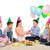 jongen · familie · vrienden · vieren · verjaardagsfeest · groep - stockfoto © dolgachov