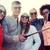 gruppo · amici · foto · smartphone · estate - foto d'archivio © dolgachov
