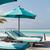 parasol · zee · Maldiven · strand · reizen · toerisme - stockfoto © dolgachov