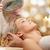 красивой · полотенце · вокруг · голову - Сток-фото © dolgachov