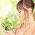 女性 · 芽 · 蝶 · 緑 · 健康 · スパ - ストックフォト © dolgachov