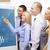 groep · zakenmannen · vrouwen · business · werk · kantoor - stockfoto © dolgachov