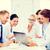 jovem · profissionais · negócio · atraente · treinamento · escritório - foto stock © dolgachov