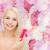 パーフェクト · 女性 · 花 · フローラル - ストックフォト © dolgachov