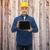 smiling male builder in helmet with tablet pc stock photo © dolgachov