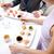 paar · eten · sushi · restaurant · restaurant · eten - stockfoto © dolgachov