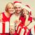 Noel · aile · hediyeler · noel · mutlu · aile · anne - stok fotoğraf © dolgachov