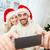 mutlu · aile · çift · Noel · kış · tatil - stok fotoğraf © dolgachov