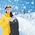 genç · kadın · kayakçılık · kadın · tatil · tatil · renk - stok fotoğraf © dolgachov