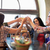 boldog · barátok · iszik · sör · bár · kocsma - stock fotó © dolgachov