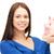 femme · d'affaires · tirelire · isolé · blanche · femme - photo stock © dolgachov