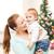 ребенка · матери · Рождества · подарки · белый · семьи - Сток-фото © dolgachov