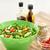közelkép · zöldség · salátástál · étel · gasztronómiai · eszik - stock fotó © dolgachov