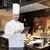 szakács · szakács · táblagép · étterem · konyha · főzés - stock fotó © dolgachov