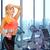 szczęśliwy · kobieta · butelki · wody · ręcznik · siłowni - zdjęcia stock © dolgachov