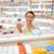 heureux · Homme · client · drogue · jar · pharmacie - photo stock © dolgachov