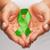 eller · yeşil · farkında · olma · şerit · sağlık - stok fotoğraf © dolgachov