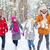 jóképű · pár · szórakozás · tél · ünnepek · nő - stock fotó © dolgachov