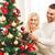 gelukkig · paar · kerstboom · glimlach · liefde · kus - stockfoto © dolgachov