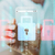 close up of hand with security lock on smartphone stock photo © dolgachov