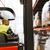 man operating forklift loader at warehouse stock photo © dolgachov