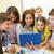 группа · дети · учитель · школы · образование - Сток-фото © dolgachov