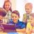 groep · gelukkig · kinderen · school · onderwijs - stockfoto © dolgachov
