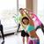 groep · glimlachend · mensen · gymnasium · fitness - stockfoto © dolgachov