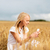 mutlu · kadın · kulaklık · yaz · tatil - stok fotoğraf © dolgachov