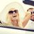 автомобилей · люди · человека · вождения · счастливым · женщину - Сток-фото © dolgachov