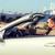 boldog · férfi · vezetés · cabrio · autó · város - stock fotó © dolgachov