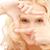 vrouw · frame · vingers · foto · handen · model - stockfoto © dolgachov