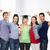 groep · permanente · glimlachend · studenten · diploma · onderwijs - stockfoto © dolgachov
