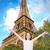 Parijs · gelukkig · Eiffeltoren · toeristische · Europa · vrolijk - stockfoto © dolgachov