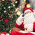 サンタクロース · 話し · 携帯電話 · 白 · 男 · 冬 - ストックフォト © dolgachov