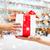 christmas · kind · geschenk · jong · meisje · familie · moeder - stockfoto © dolgachov