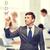 uomo · d'affari · business · uomo · pen · finestra · uomini - foto d'archivio © dolgachov