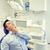férfi · fogfájás · fiatal · lezser · izolált · fehér - stock fotó © dolgachov
