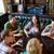 vrienden · drinken · bier · bar · pub · mensen - stockfoto © dolgachov