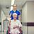 infermiera · senior · donna · clinica - foto d'archivio © dolgachov
