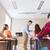 grup · Öğrenciler · öğretmen · test · sonuçları · eğitim · okul - stok fotoğraf © dolgachov